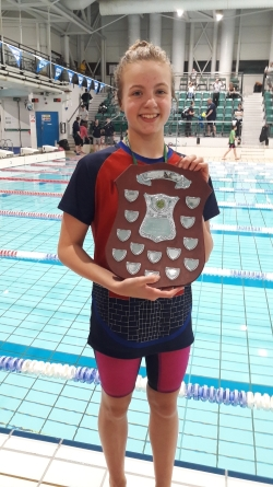 Margot Hoogers 50m Fly Champion